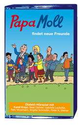 Papa Moll findet neue Freunde, Umschlag gross anzeigen
