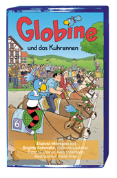 Globine und das Kuhrennen MC, Umschlag gross anzeigen