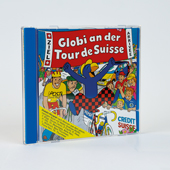 Globi an der Tour de Suisse CD