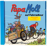 Papa Moll auf Fahrradtour CD, Umschlag gross anzeigen