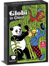 Globi in China Quartett