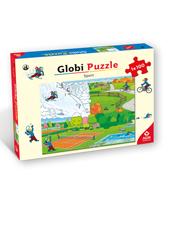 Globi Puzzle Sport