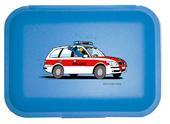Globi Lunchbox Polizei blau, Umschlag gross anzeigen