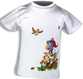 Glöbeli T-Shirt weiss 86/92