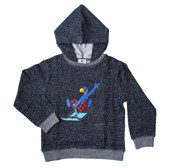 Globi Sweat Shirt Rodler blau 110/116, Umschlag gross anzeigen
