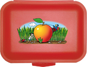 Globi Lunchbox Forscher rot