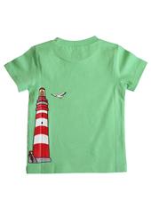 Glöbeli T-Shirt grün Ball/Leuchtturm 98/104, Umschlag gross anzeigen