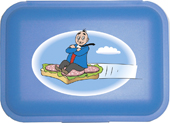 Papa Moll Lunchbox Canapé blau