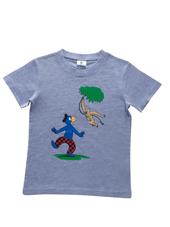 Globi T-Shirt grau Gibbon 98/104