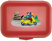 Globi Lunchbox Rom rot, Umschlag gross anzeigen