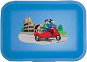 Globi Lunchbox Rom blau