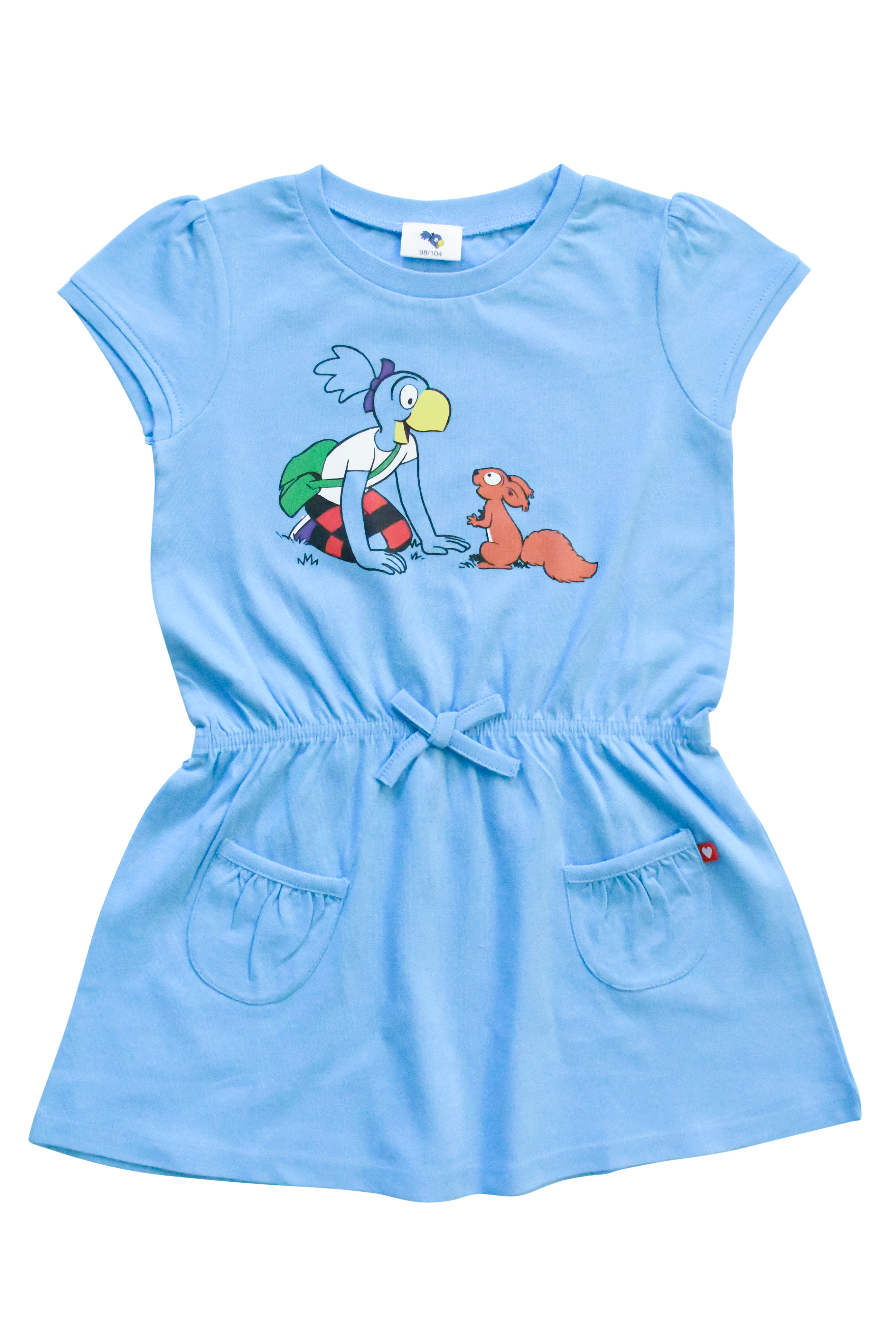 Globine Kleid blau 98/104