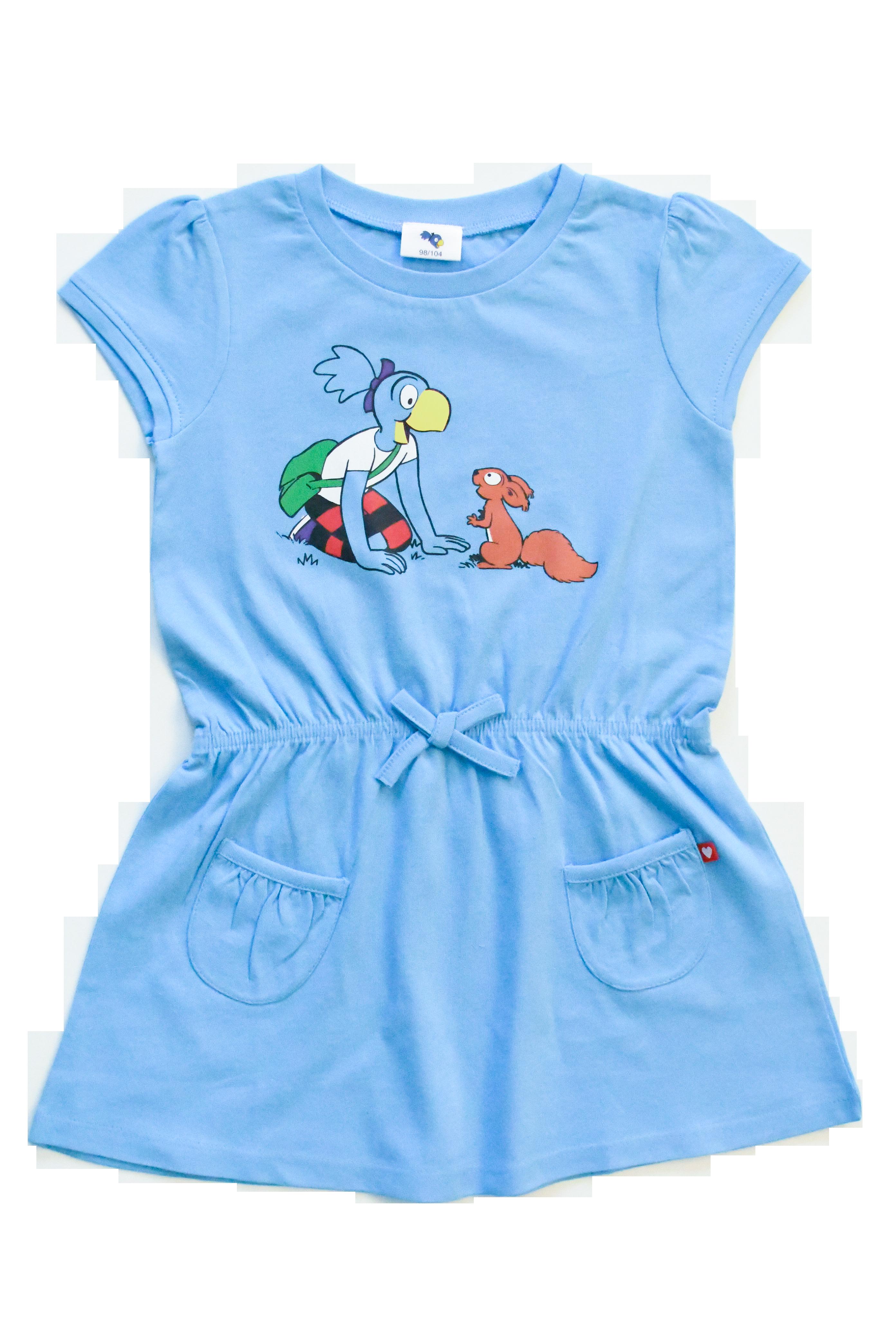 Globine Kleid blau 122/128