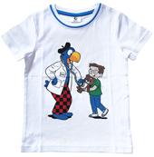 Globi T-Shirt Arzt weiss 122/128