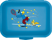 Globi Lunchbox Tennis blau