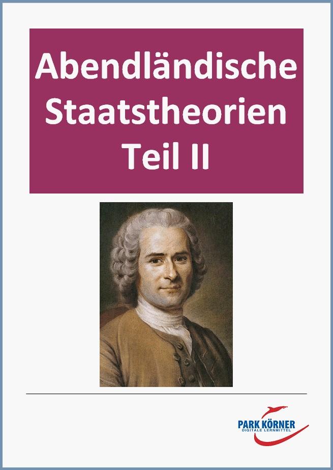 Abendländische Staatstheorien II: von Locke bis Popper