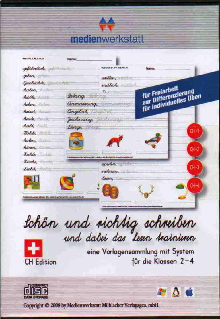 Schön Und Richtig Schreiben Ausgabe Für Die Schweiz Schullizenz