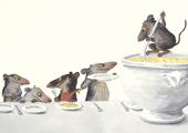 Suppensch-mäuse Postkarten 1=10