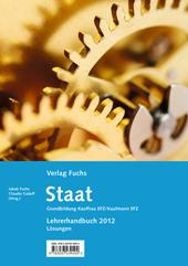 Staat mit Aufgaben und Frage - Grundbildung Kauffrau/Kaufmann EFZ, Umschlag gross anzeigen