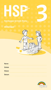 Hamburger Schreib-Probe (HSP+): Testheft 3 plus Auswertungscode (5er-Pack)