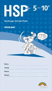 Hamburger Schreib-Probe (HSP+): Testheft 5-10 B plus Auswertungscode (5er-Pack)