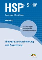 Hamburger Schreib-Probe (HSP+): Hinweise 5-10B plus