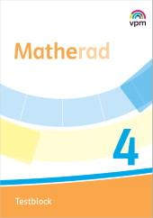 Matherad 4 - Testblock Ausgabe ab 2018, Umschlag gross anzeigen