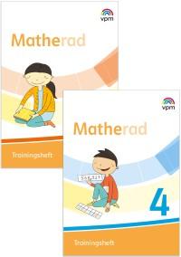Matherad 3/4 - Trainingshefte im Paket Ausgabe ab 2018
