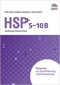 Hamburger Schreib-Probe HSP 5-10 B Hinweise