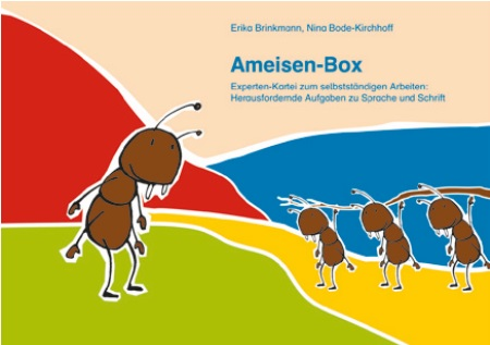Karteikarten Deutsch - Ameisen-Box