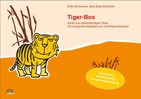 Karteikarten Deutsch Tiger-Box