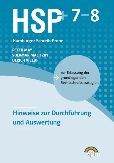 Hamburger Schreib-Probe (HSP+): Hinweise 7/8 plus