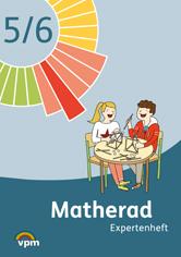 Matherad, Expertenheft Ende 6. Schuljahr, Umschlag gross anzeigen
