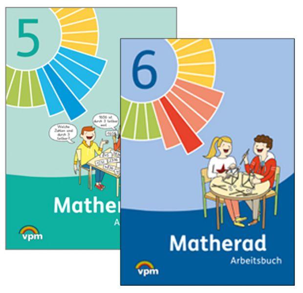 Matherad Arbeitsbuch 5+6 im Paket