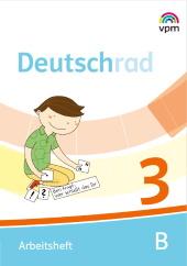 Deutschrad 3 - Arbeitsheft (Teil A+B)