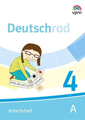 Deutschrad 4 - Arbeitsheft (Teil A+B)