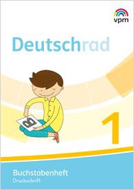 Deutschrad 1 - Buchstabenheft, Umschlag gross anzeigen
