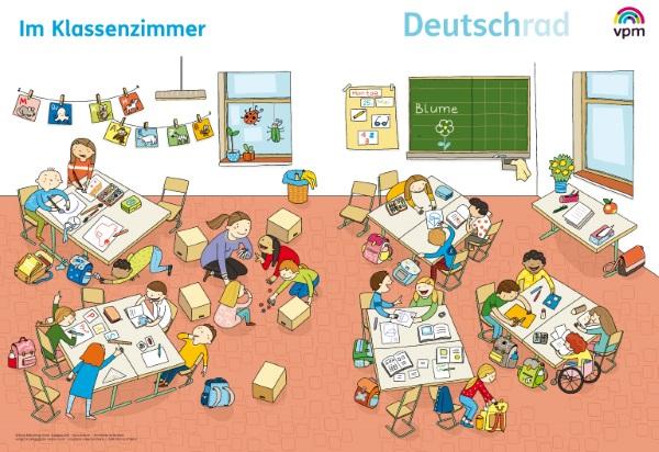 Deutschrad 1/2 - 10 Wimmelbilder
