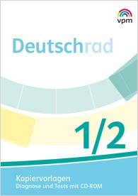 Deutschrad 1/2 - Kopiervorlagen Diagnose und Test