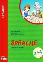Lernbuch: Sprache untersuchen 3+4