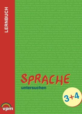 Lehrerkommentar Lernbuch: Sprache untersuchen 3+4