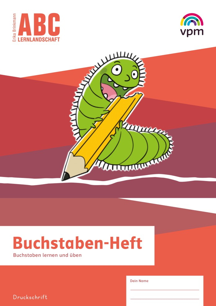 ABC Lernlandschaft 1/2 - Buchstaben-Heft Druckschrift