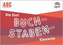 ABC Lernlandschaft 1/2 - 5-Buchstaben-Stempel
