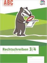 ABC Lernlandschaft 3/4 - Arbeitsheft Rechtschreiben, Umschlag gross anzeigen