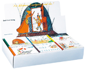Mini Carigiets Verkaufsbox 6 Titel zu je 10 Ex.
