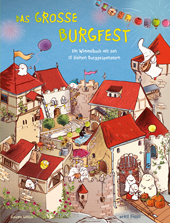 10 kleine Burggespenster Das große Burgfest, Umschlag gross anzeigen