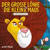 Der grosse Löwe und die kleine Maus