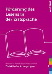 Förderung des Lesens in der Erstsprache, Umschlag gross anzeigen