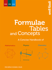 Formulae Tables and Concepts includes e-book