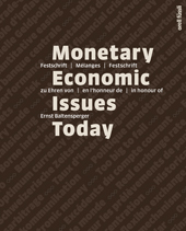 Monetary Economic Issues Today, Umschlag gross anzeigen